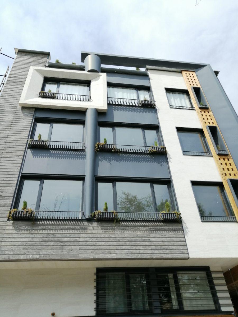پروژه ساختمان و جا گلدانی پنجره یو پی وی سی ایستاوین نماینده ویستابست