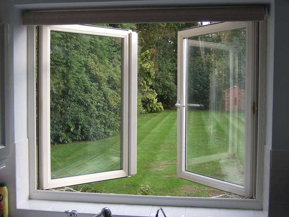 Freanch uPVC window درب و پنجره فرانسوی دو جداره
