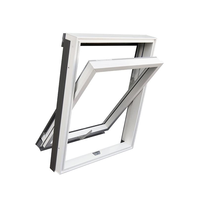 پنجره لولایی پیوت یو پی وی سی Pivot upvc window