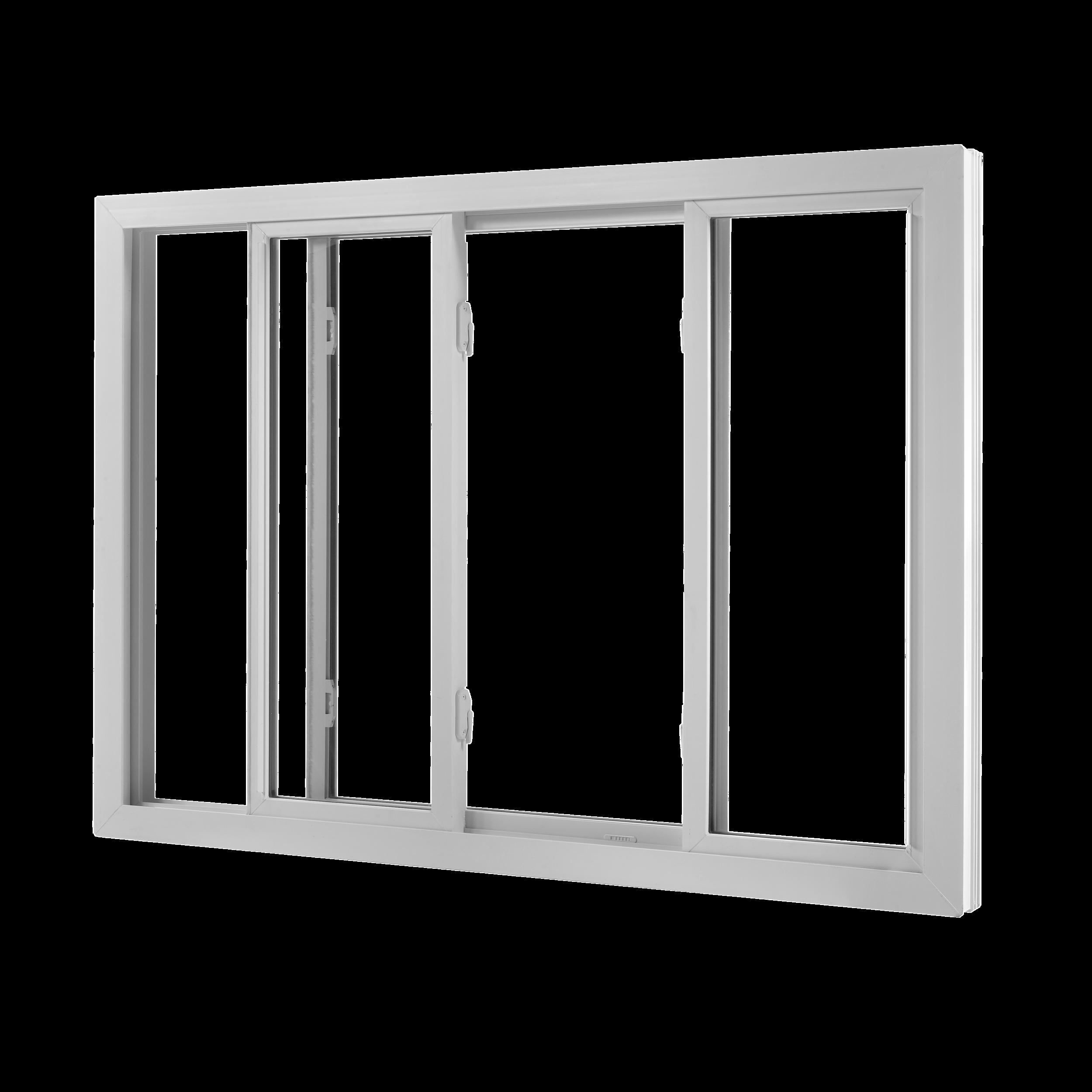 درب و پنجره های دوجداره کشویی (ریلی) Sliding uPVC Door & Window