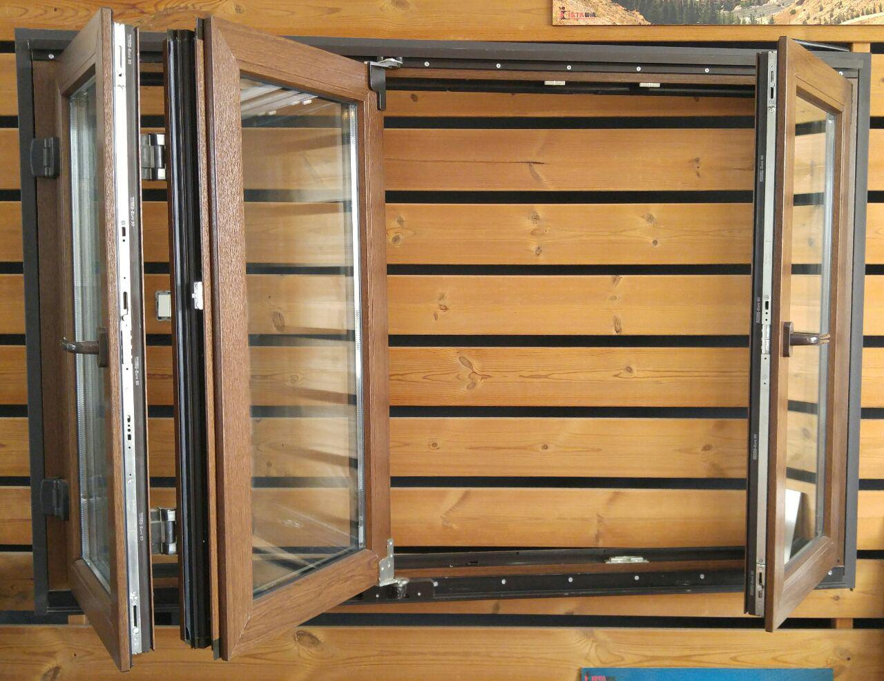 درب و پنجره آکاردئونی یو پی وی سی uPVC Fold & Slide doors and window